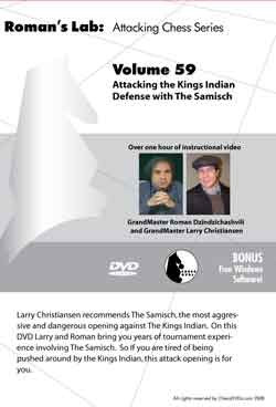 Roman's Lab 59: King's Indian Defense, Samisch Variation - Chess Opening Video DVD