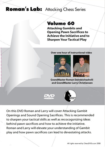 Roman's Lab 60: Attacking Gambits and Sacrifices - Chess Opening Video Download