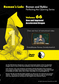 Roman's Lab 66: The Improved Accelerated Dragon - Chess Opening Video DVD