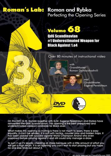 Roman's Lab 68: The 3...Qd6 Scandinavian for Black - Chess Opening Video DVD