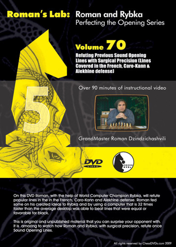 Roman's Lab 70: Refuting Mistakes with Surgical Precision - Chess Opening Video DVD