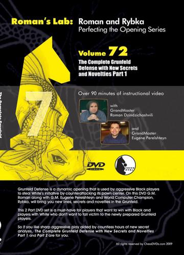 Roman's Lab 72: The Complete Grunfeld Defense (Part 1) - Chess Opening Video DVD