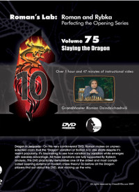 Roman's Lab 75: Slay the Sicilian Dragon - Chess Opening Video DVD