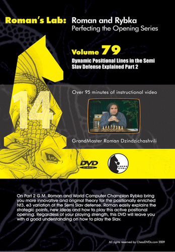 Roman's Lab 79: Dynamic Lines in the Semi-Slav Defense (Part 2) - Chess Opening Video DVD
