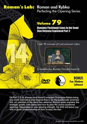 Roman's Lab 79: Dynamic Lines in the Semi-Slav  Defense (Part 2) - Chess Opening Video Download
