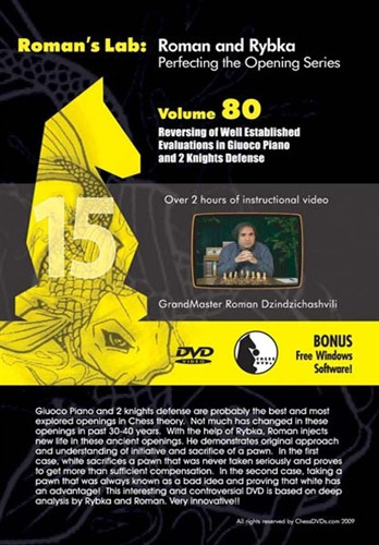 Roman's Lab 80: The Giuoco Piano and Two Knights Defense - Chess Opening Video Download