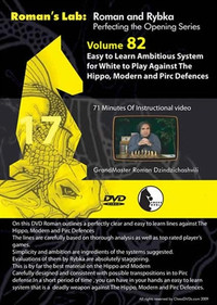 Roman's Lab 82: Play White against the Hippo & Pirc/Modern Defenses - Chess Opening Video Download