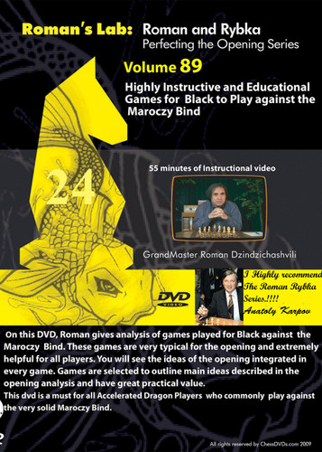 Roman's Lab 89: Instructive Games in the Maroczy Bind - Chess Opening Video DVD