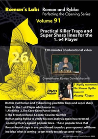 Roman's Lab 91: Killer Traps for the 1.e4 Player - Chess Opening Video Download