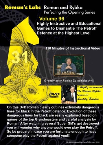 Roman's Lab 96: Dismantling the Petroff Defense - Chess Opening Video Download