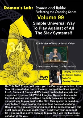 Roman's Lab 99: Universal Play against all Slav Systems - Chess Opening Video Download