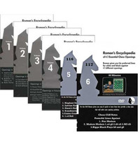 Roman's Encyclopedia of Chess Openings (6 DVDs) - Chess Opening Video DVD