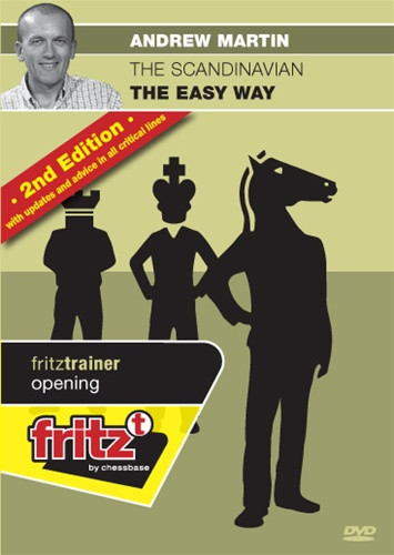 The Scandinavian Defense, The Easy Way (2nd Ed) - Chess Opening Trainer on DVD