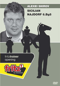 Alexei Shirov: Sicilian Najdorf with 6.Bg5 - Chess Opening Software on DVD