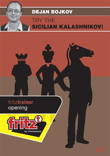 Try the Sicilian Kalashnikov - Chess Opening Software on DVD