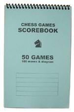 Chess Score Pad