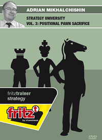 Strategy University, Vol. 3: Positional Pawn Sacrifice in Chess Download