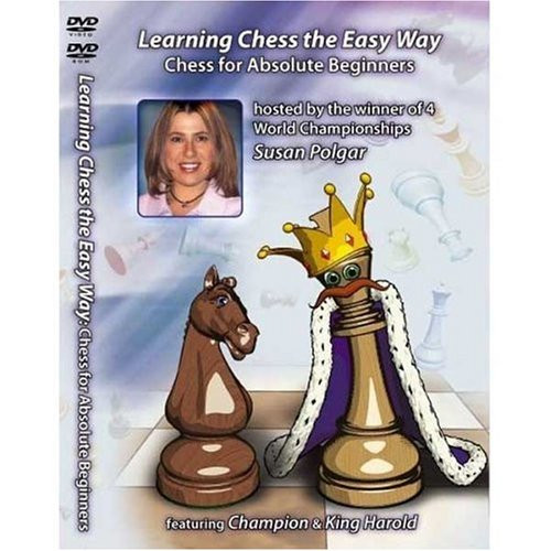 Susan Polgar: Chess for Absolute Beginners - Chess Training Video DVD