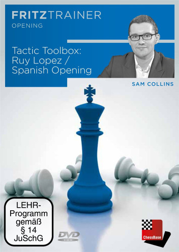 Tactic Toolbox: The Ruy Lopez Defense - Chess Opening Software on DVD