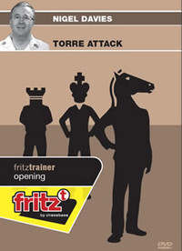 The Torre Attack - Chess Opening Software on DVD