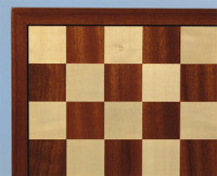Sapele and Maple Chess Board