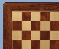 Padauk and Maple Chess Board