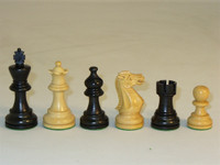 Emperor Chess Set - Chess Pieces and Matching Chess Board-the pieces