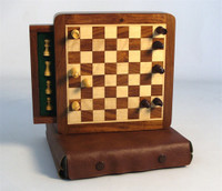 Portable Case-style Magnetic Chess Set