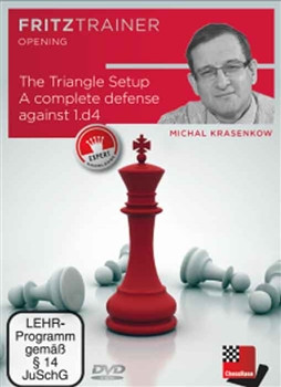 The Triangle Setup: A Complete Defense against 1.d4 - Chess Opening Software on DVD
