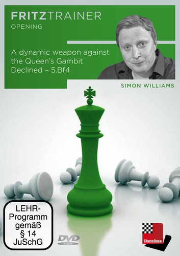 A Dynamic Weapon against the Queen's Gambit Declined - Chess Opening Software on DVD