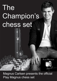 Mangus Carlsen - Signature Champion Chess Set