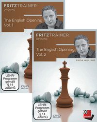Bundle: The English Opening (Parts 1 & 2) - Chess Training Software on DVD