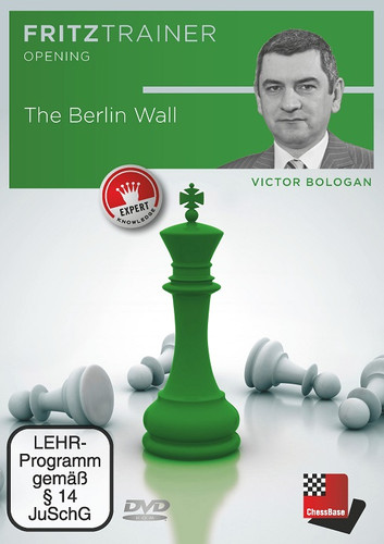 Ruy Lopez: The Berlin Wall - Chess Opening Software on DVD