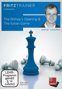 The Bishop's Opening & Italian Game - Chess Opening Software on DVD