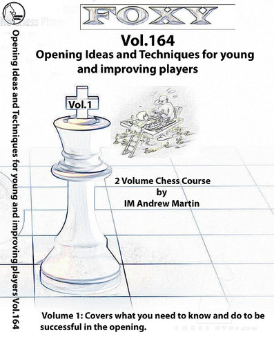 Foxy 164-165: Opening Ideas, Complete Set (2 DVDs) - Chess Opening Video DVD