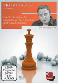 Simple but Powerful: Exchange on d5 in the Slav and Queen's Gambit - Chess Opening Software on DVD