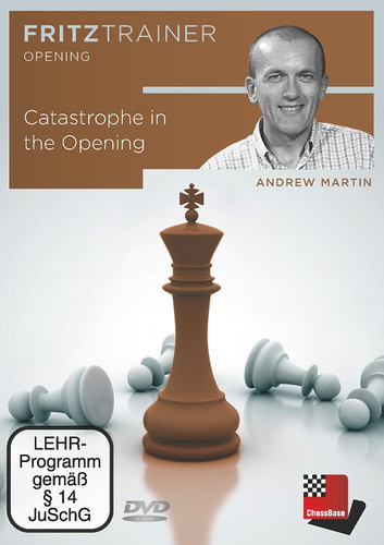 Catastrophe in the Opening - Chess Training Software on DVD