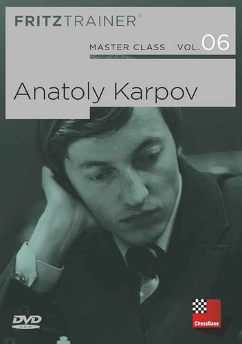 Master Class, Vol. 6: Anatoly Karpov - Chess Biography Software DVD