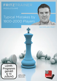 Typical Mistakes by 1800-2000 Players Chess Training DVD