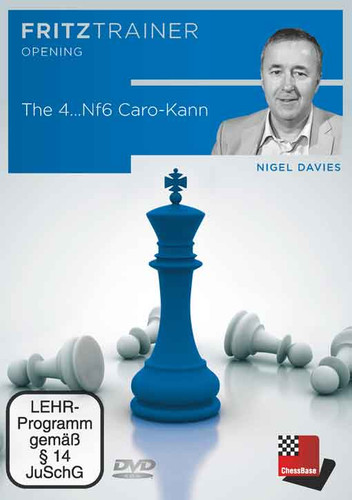 The 4…Nf6 Caro-Kann - Chess Opening Software on DVD