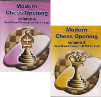 Modern Chess Openings, Vols. 4 & 5: Semi-Closed Games - Chess Opening Software on CD