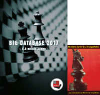 "Big Database 2017 - Chess Database Software & Capablanca's ""My Chess Career"" E-Book"