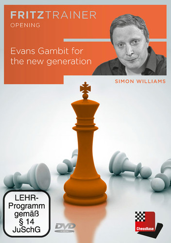 The Evans Gambit for a New Generation - Chess Opening Software on DVD