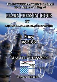 Foxy 166: Learn Chess in 1 Hour - Chess Training Video DVD