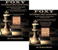 Foxy 168-169: The Modern Albin Counter-Gambit (2 DVDs) - Chess Opening Video DVD