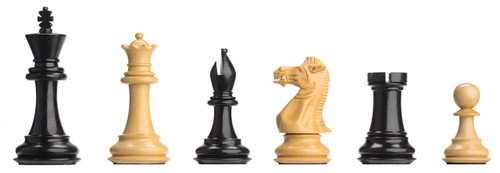 The Ebony Weighted Electronic Chess Pieces by DGT