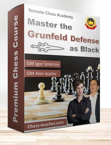 Master the Grunfeld Defense as Black - Chess Course Video Download