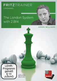 The London System with 2.Bf4 - Chess Opening Software on DVD