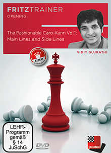 The Fashionable Caro-Kann (Part 1) - Chess Opening Software on DVD