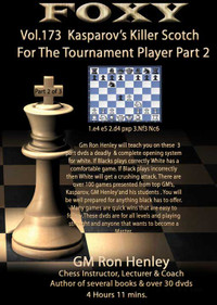 Foxy 173: Killer Scotch for Tournament Players (Part 2) - Chess Opening Video DVD